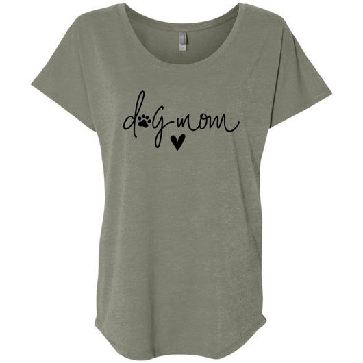 Dog Mom Slouchy T-Shirt For Women - Ohmyglad