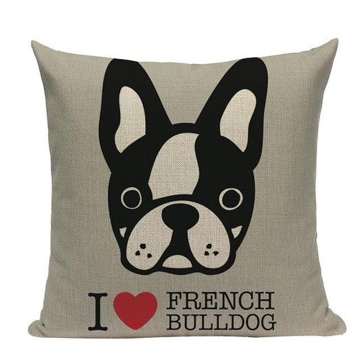 Dog Pillow Cushion Covers - Ohmyglad