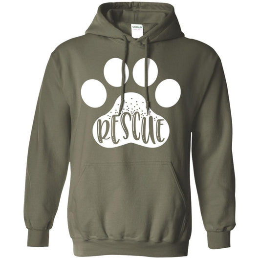 Dog Rescue Pullover Hoodie For Men - Ohmyglad