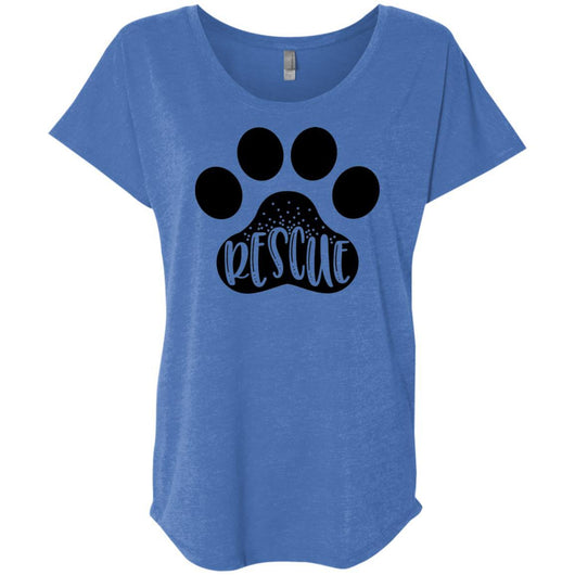 Dog Rescue Slouchy T-Shirt For Women - Ohmyglad