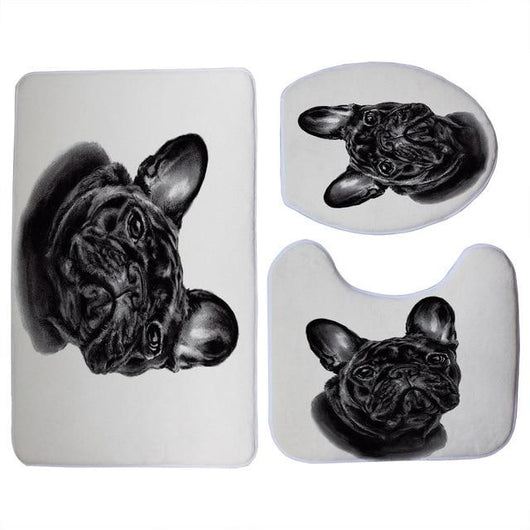 Dog Toilet Seat Cover Set - Ohmyglad