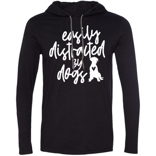 Easily Distracted By Dogs Hooded Shirt For Men - Ohmyglad
