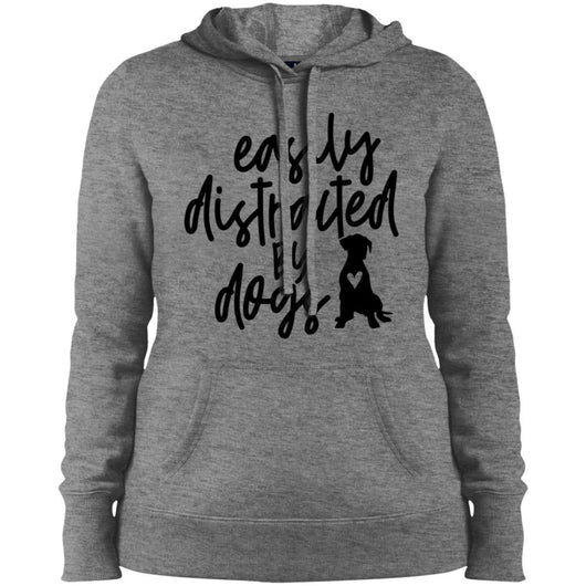 Easily Distracted By Dogs Hoodie For Women - Ohmyglad