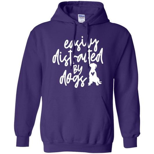 Easily Distracted By Dogs Pullover Hoodie For Men - Ohmyglad