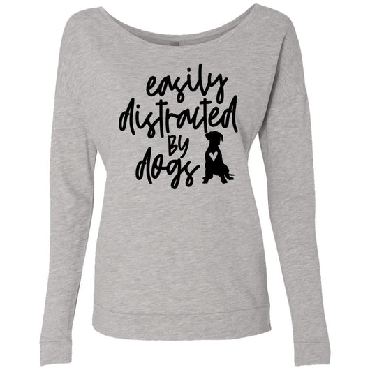 Easily Distracted By Dogs Sweatshirt For Women - Ohmyglad