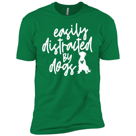 Easily Distracted By Dogs Unisex T-Shirt - Ohmyglad