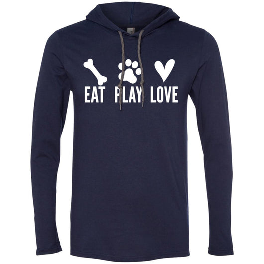 Eat, Play, Love Hooded Shirt For Men - Ohmyglad