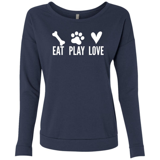 Eat, Play, Love Sweatshirt For Women - Ohmyglad