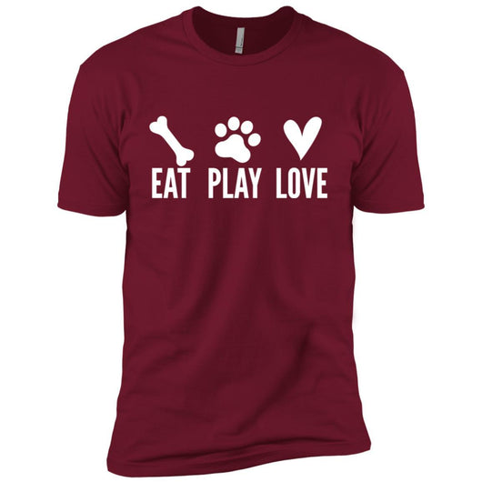 Eat, Play, Love Unisex T-Shirt - Ohmyglad