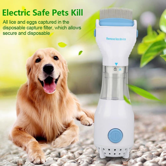 Electric Flea Comb For Dogs - Ohmyglad
