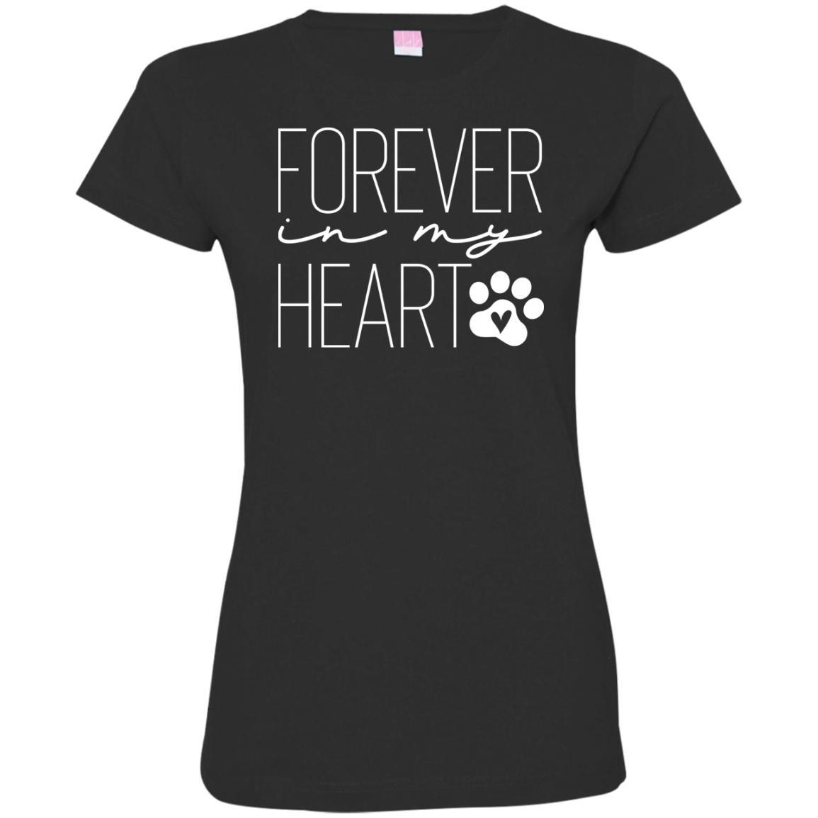 Forever In My Heart Fitted T-Shirt For Women