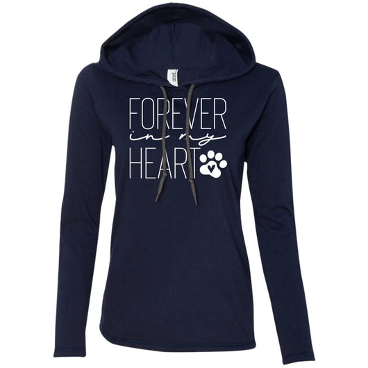 Forever In My Heart Hooded Shirt For Women - Ohmyglad