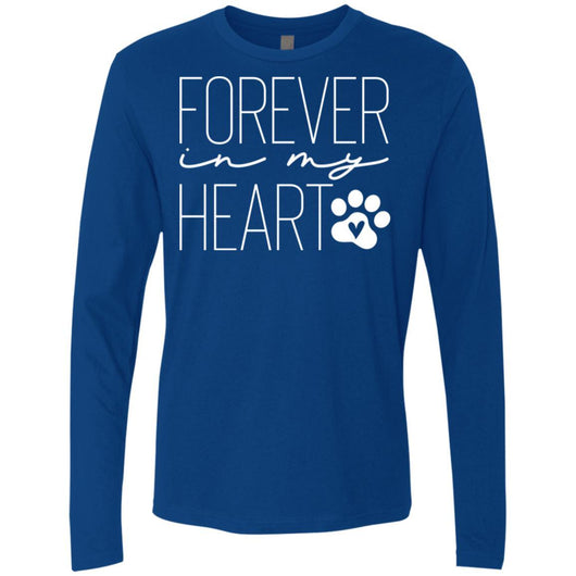Forever In My Heart Long Sleeve Shirt For Men - Ohmyglad