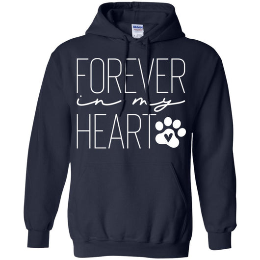 Forever In My Heart Pullover Hoodie For Men - Ohmyglad