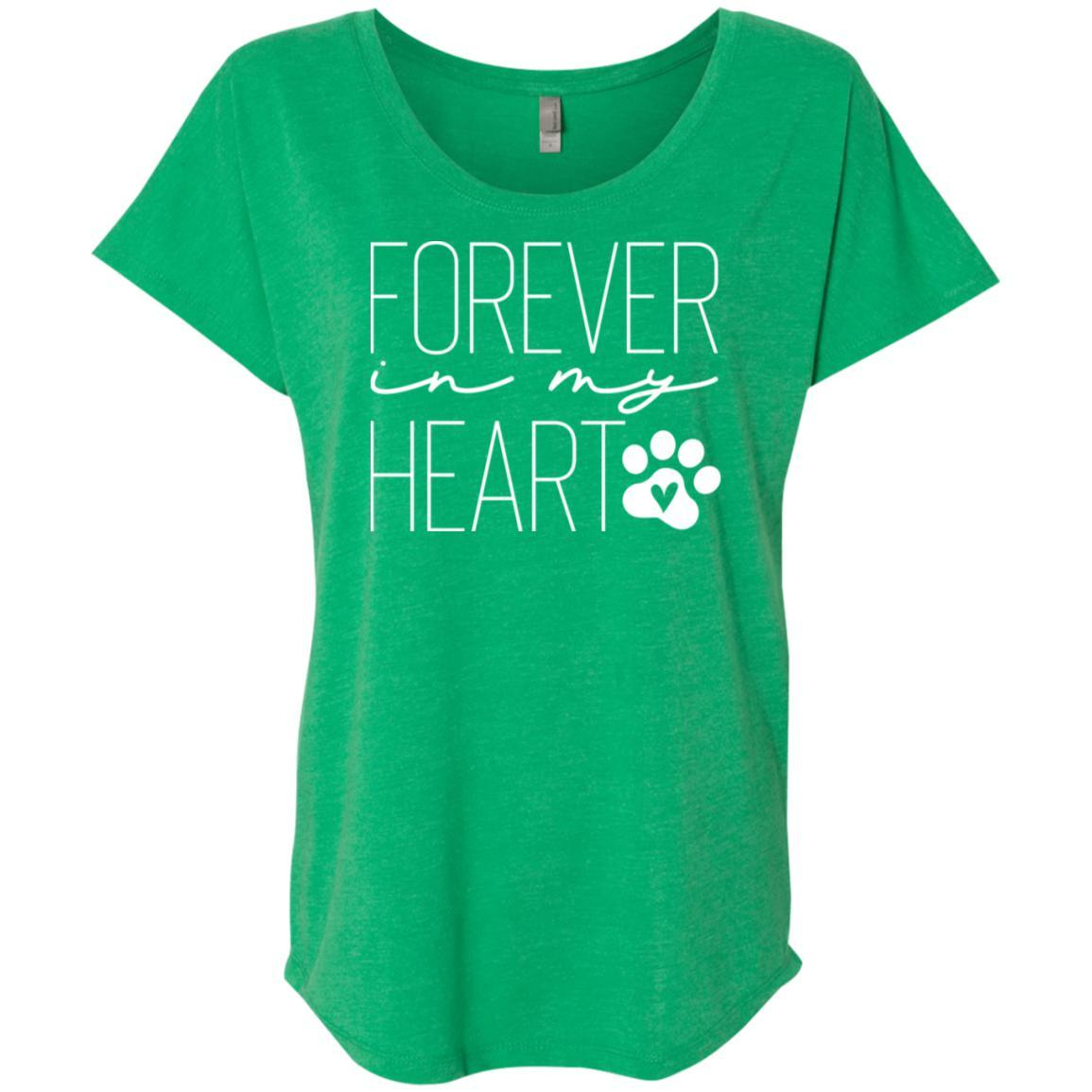Forever In My Heart Slouchy T-Shirt For Women