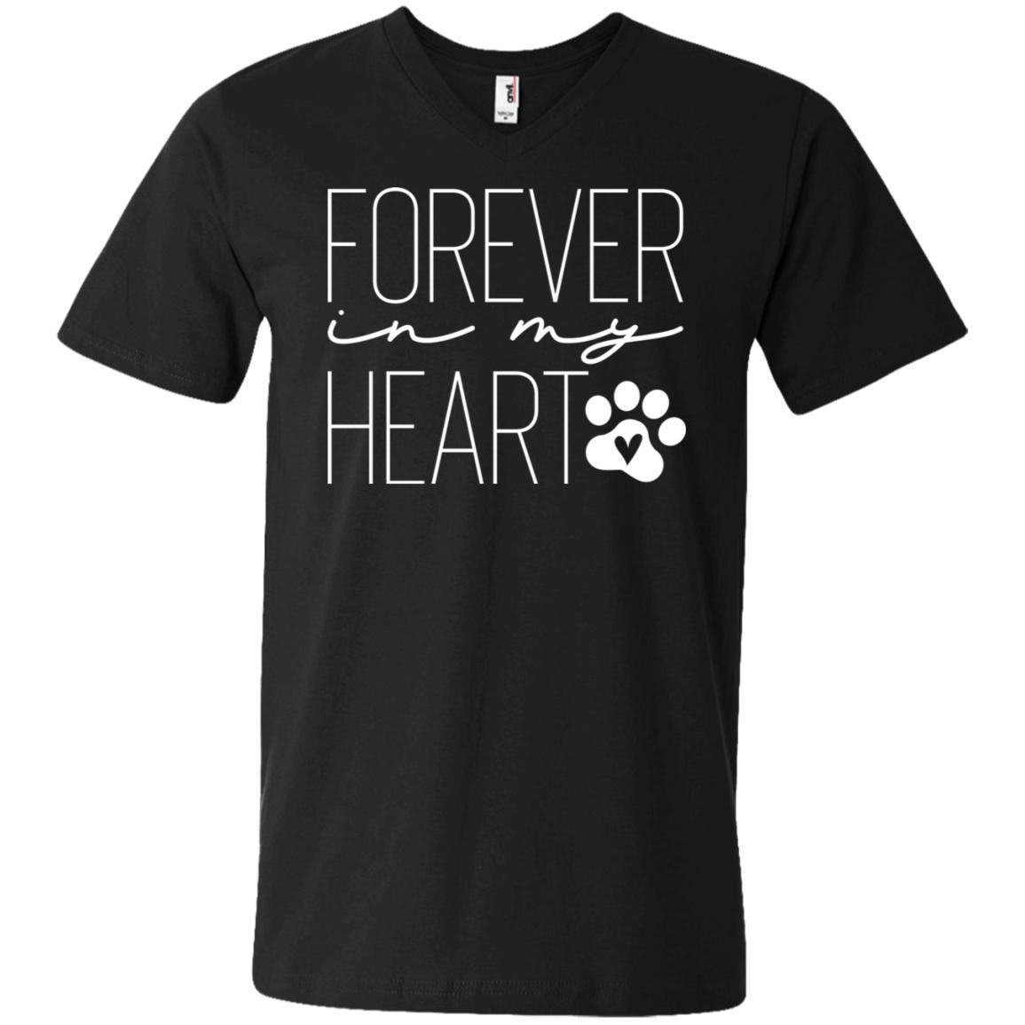 Forever In My Heart V-Neck T-Shirt For Men