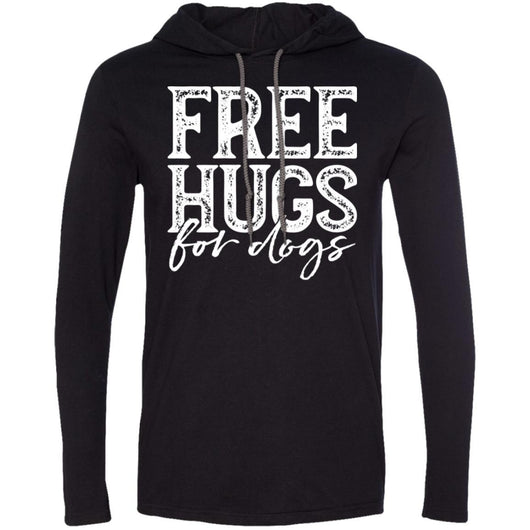 Free Hugs For Dogs Hooded Shirt For Men - Ohmyglad