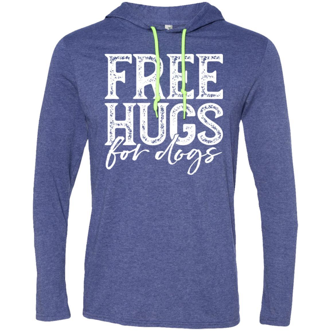 Free Hugs For Dogs Hooded Shirt For Men