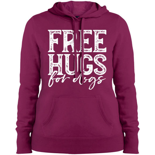 Free Hugs For Dogs Hoodie For Women - Ohmyglad