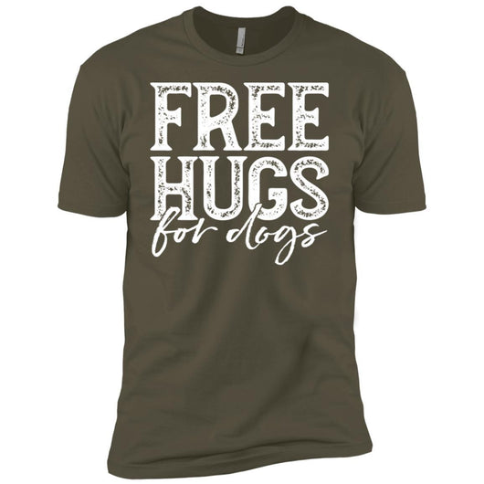 Free Hugs For Dogs Unisex T-Shirt - Ohmyglad