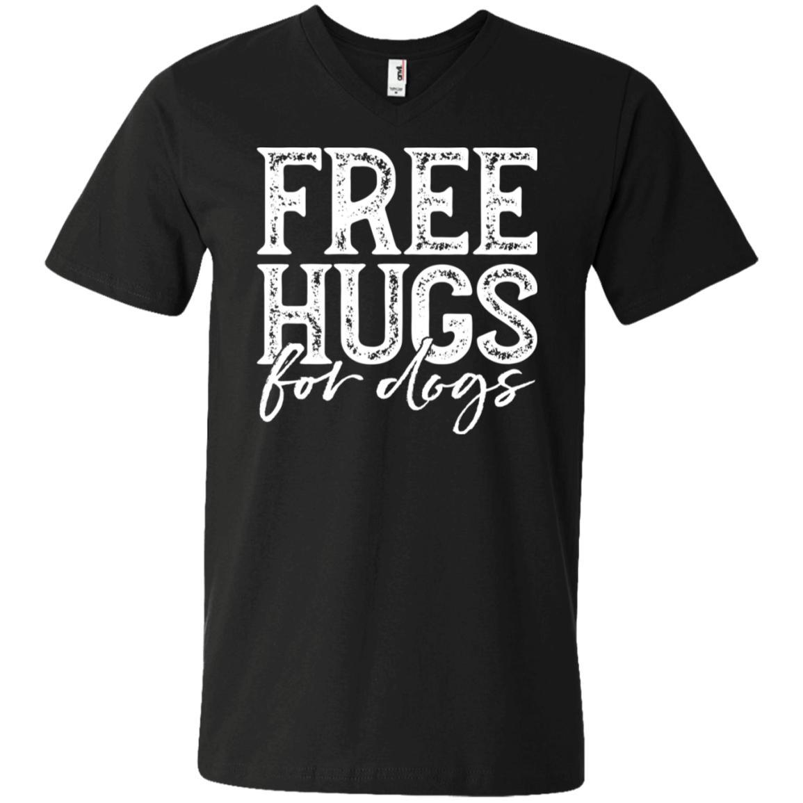 Free Hugs For Dogs V-Neck T-Shirt For Men