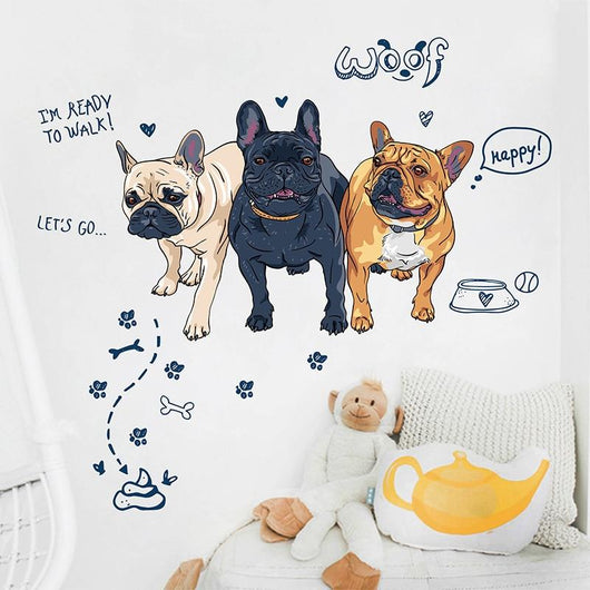 French Bulldog Wall Sticker - Ohmyglad