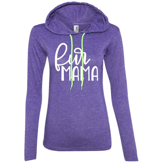 Fur Mama Hooded Shirt For Women - Ohmyglad