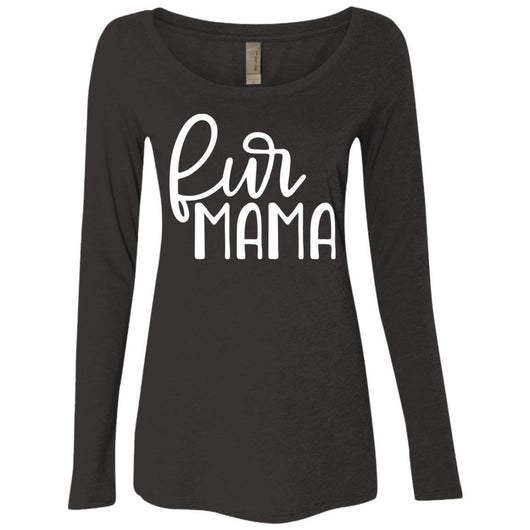 Fur Mama Long Sleeve Shirt For Women - Ohmyglad