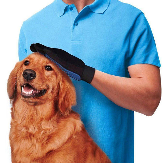 Grooming Gloves For Dogs - Ohmyglad