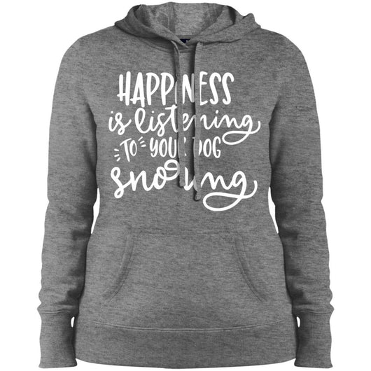Happiness Is Listening To Your Dog Snoring Hoodie For Women - Ohmyglad