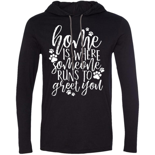 Home Is Where Someone Runs To You Greet You Hooded Shirt For Men - Ohmyglad