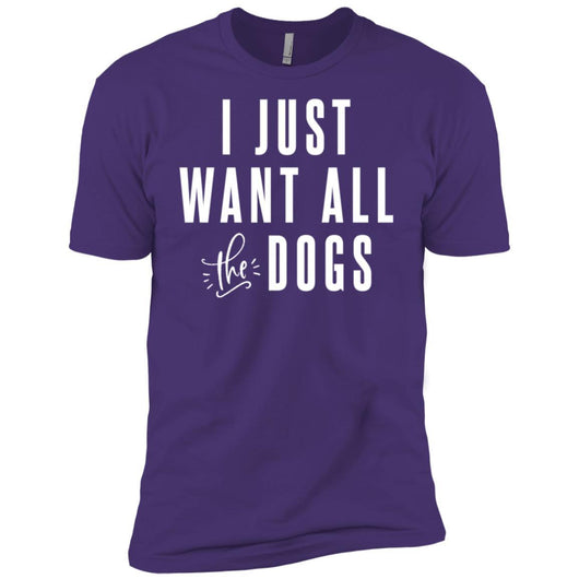 I Just Want All The Dogs Unisex T-Shirt - Ohmyglad
