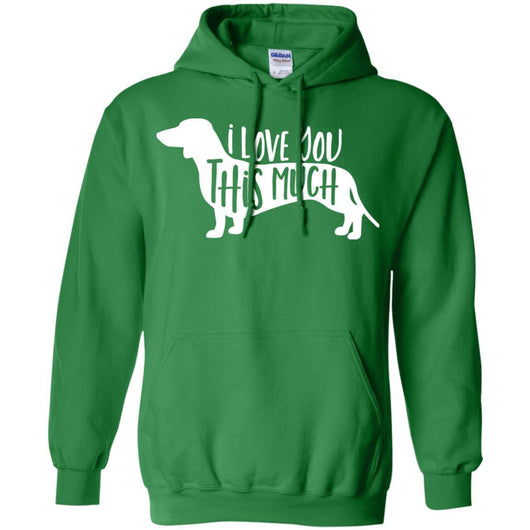 I Love You This Much Pullover Hoodie For Men - Ohmyglad