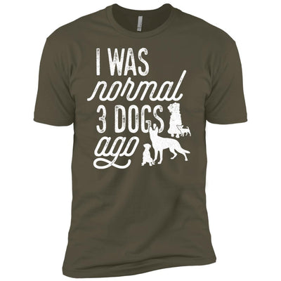 I Was Normal 3 Dogs Ago Unisex T-Shirt - Ohmyglad