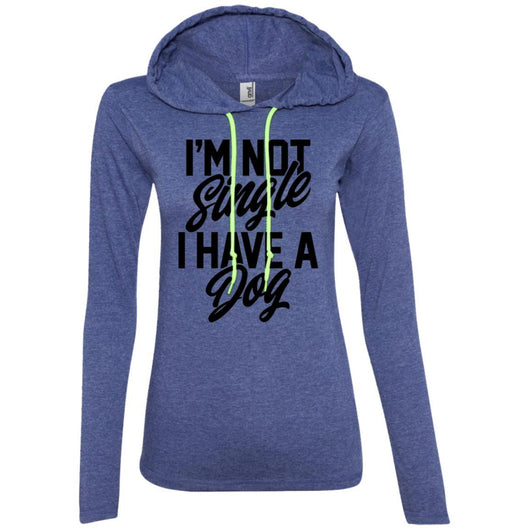 I'm Not Single I Have A Dog Hooded Shirt For Women - Ohmyglad