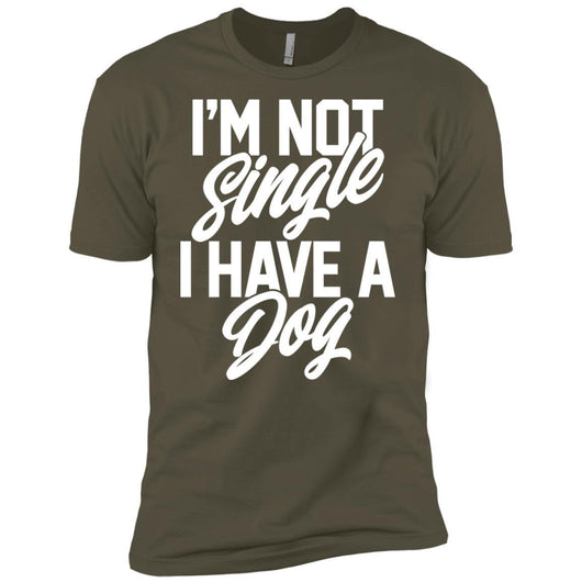 I'm Not Single I Have A Dog Unisex T-Shirt - Ohmyglad