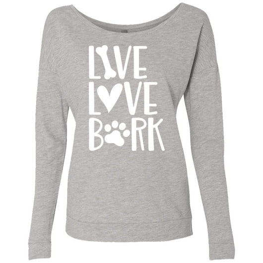 Live, Love, Bark Sweatshirt For Women - Ohmyglad