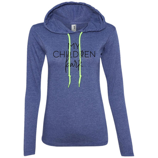 My Children Bark Hooded Shirt For Women - Ohmyglad