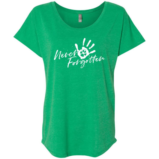 Never Forgotten... Slouchy T-Shirt For Women - Ohmyglad