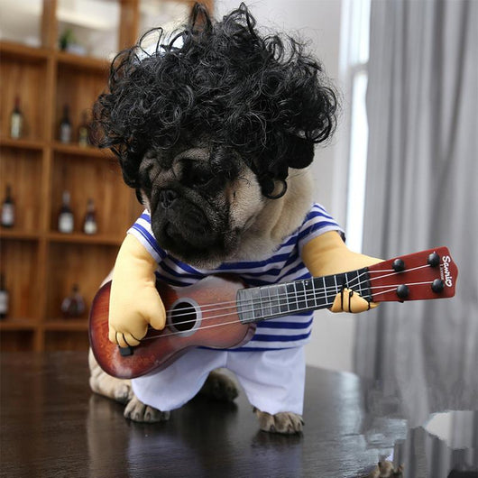 Original Guitar Dog Costume - Ohmyglad