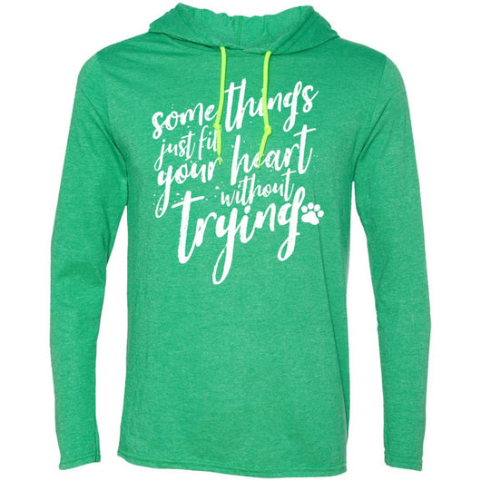 Some Things Just Fill Your Heart Without Trying Hooded Shirt For Men - Ohmyglad
