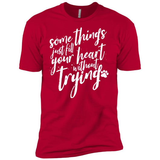 Some Things Just Fill Your Heart Without Trying Unisex T-Shirt - Ohmyglad