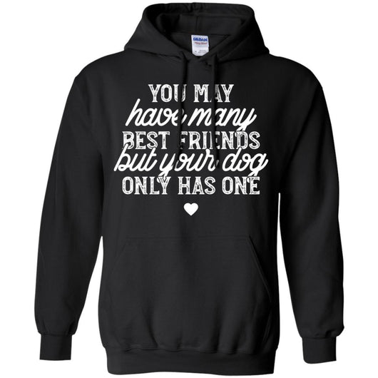 You May Have Many Best Friends Pullover Hoodie For Men - Ohmyglad