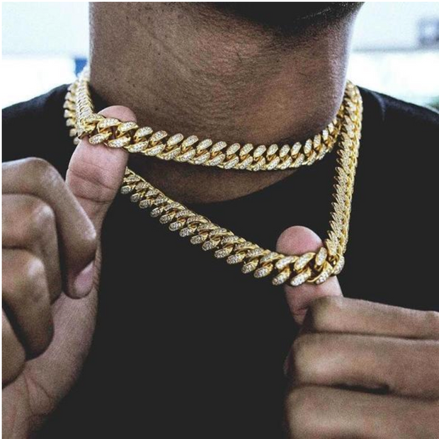 18K Gold Plated Cuban Chain