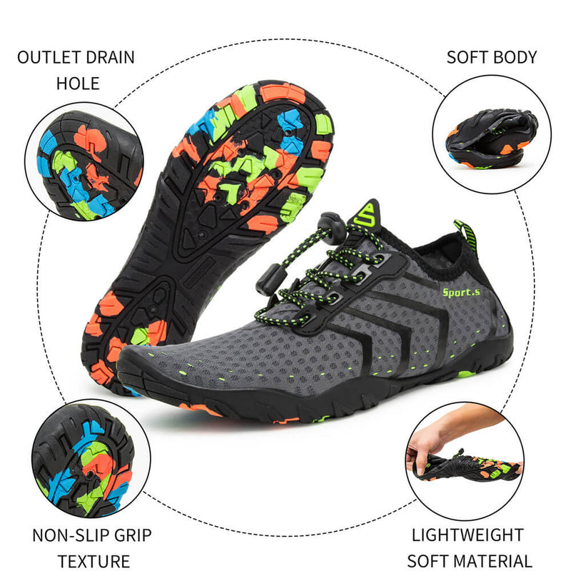Water Shoes Mens Womens Beach Swim Shoes Quick-Dry Aqua Socks Pool Shoes