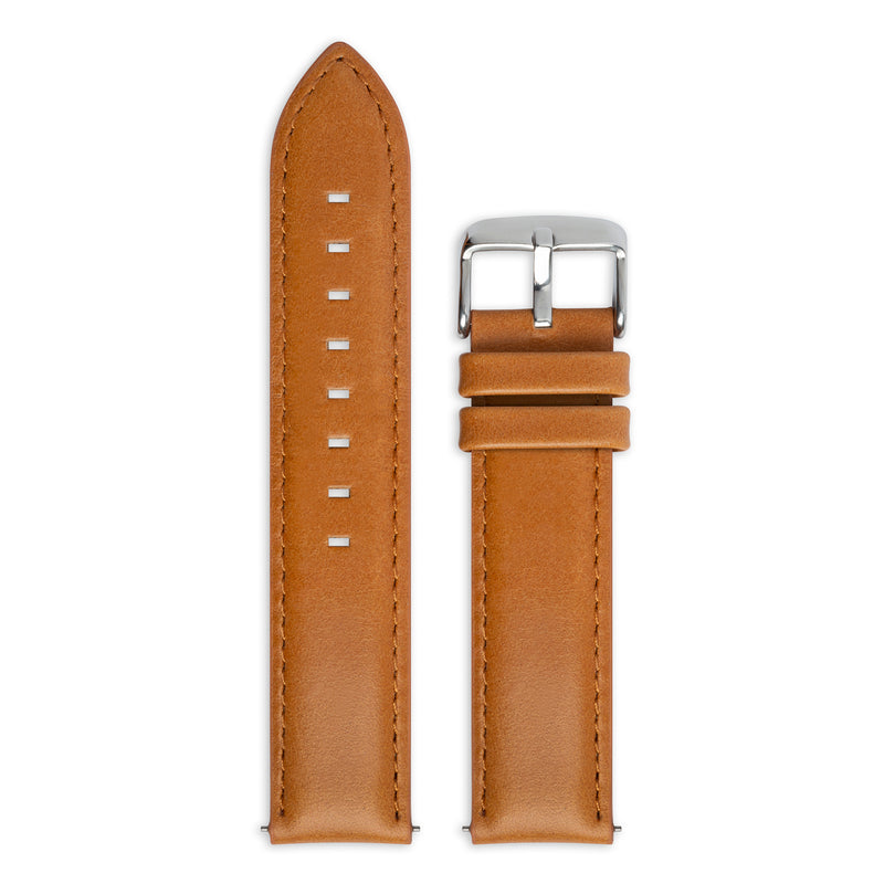 Light Tan Leather Strap