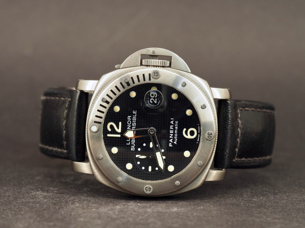 Panerai Submersible 25 Titanium