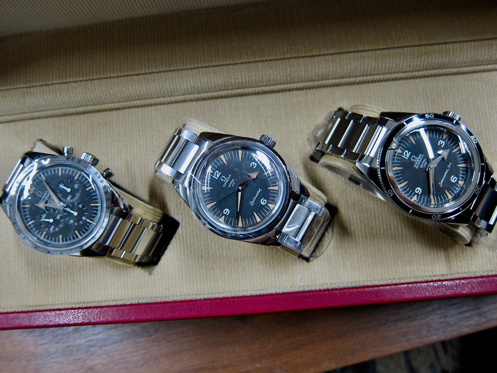 Omega Trilogy Limited Edition 60th Anniversary Set 557