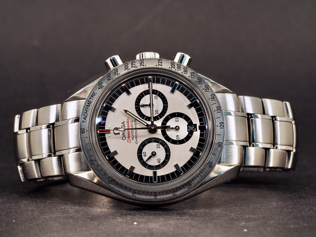 Omega Speedmaster Legend Schumacher, huollettu 2019