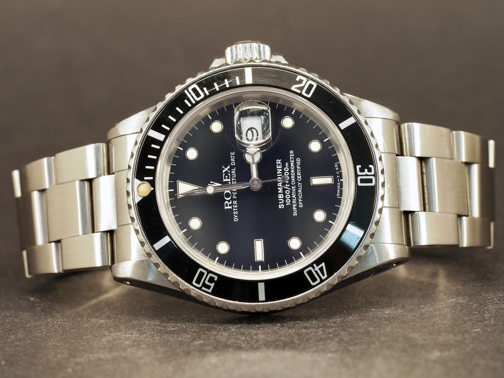 Rolex 168000 Submariner, Transitional